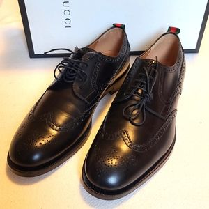BNIB- Gucci Oxford Lace-up Shoes